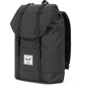 c8c9e000f36 Herschel Retreat Backpack 19,5l Unisex black crosshatch/black at ...